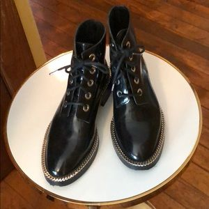 Sandro Fashion Combat Boots